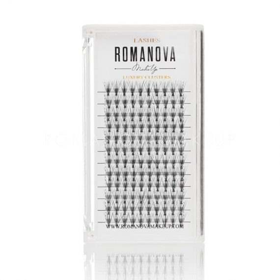Пучки для ресниц Romanovamakeup