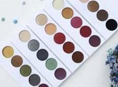 Эффектные цвета и текстуры в новых палетках теней Forget-me-not бренда Bernovich